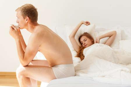 truelove: Couple wake up on a sunday morning