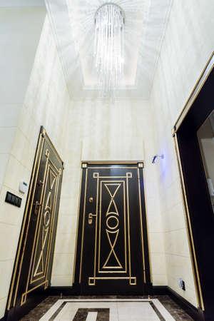 anteroom: View of illuminated anteroom in modern villa