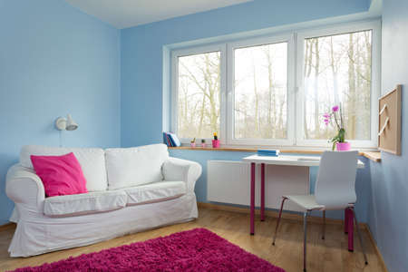 colorful: New up-to-date design of teenage girl room