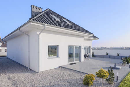 External view of beauty single family home