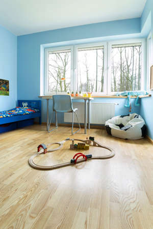 beautiful little boys: Vertical view of beauty room for little boy