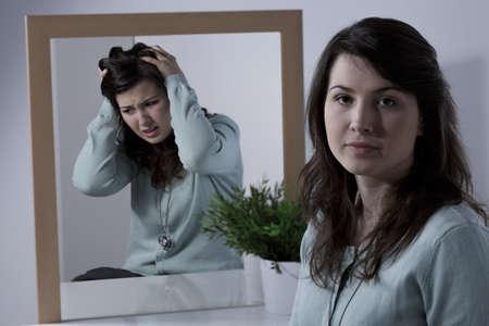 双極性障害と情緒不安定女