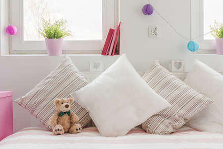 Close-up of cozy space for little child Stock Photo