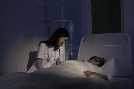 Palliative care - care for terminally ill patient Imagens - 40028227