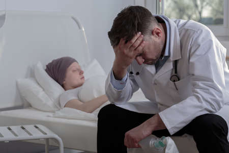 oncologist: Helpless doctor and terminally ill cancer child