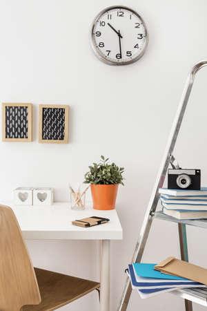 Modern stylish office with well organized desk