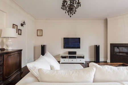a detached living room: Exclusive sitting room in elegant detached house