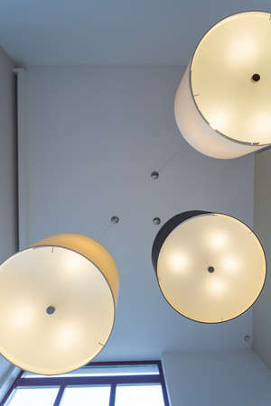 the view from below: Lamps in modern design - view from below