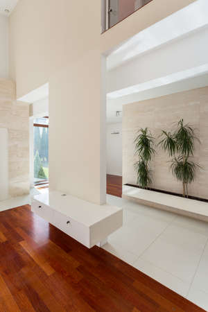 a detached living room: Interior of luxury residence in contemporary style
