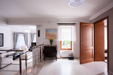 anteroom: Picture of designed interior in luxury residence