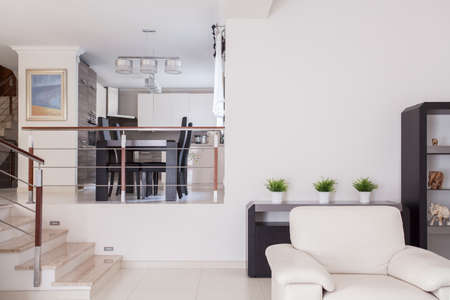 Interior of beauty residence in modern design photo