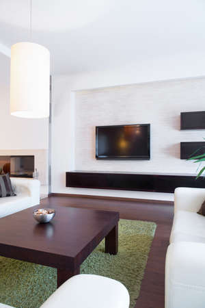 a detached living room: Picture of space for relax in luxury house