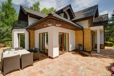 casa de campo: De lujo Belleza Casa Individual - vista desde fuera