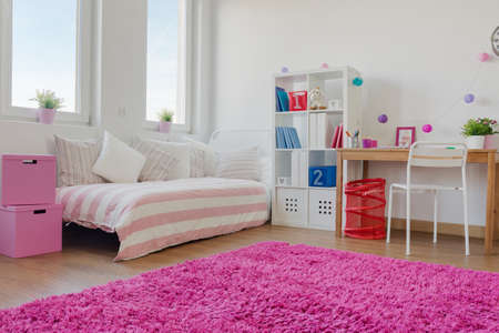 Big modern designed space for little children