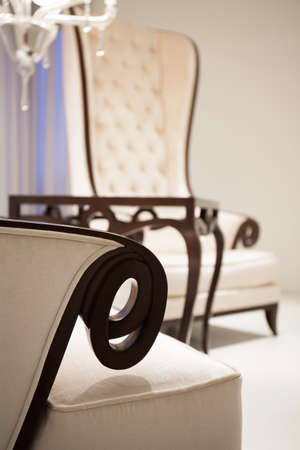 comfortable: Exclusive comfortable chairs in luxury living room