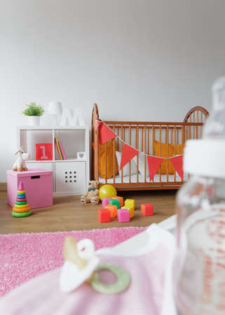 cosy: Image of light and cosy space for newborn child