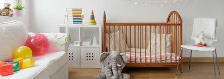 Panorama of beautiful room for baby child Stock Photo