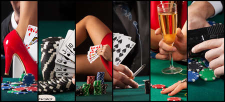 People who have problems with gambling Stok Fotoğraf - 43445161