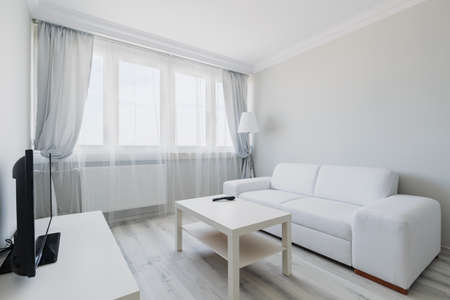Net Curtains: Photo Of Cosy Light Living Room With Simple Furniture Part 90