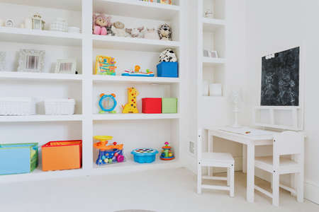 spacious: Light and spacious room for the children