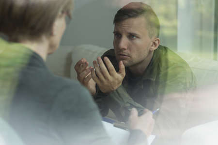 Psychological therapy of post traumatic stress disorder