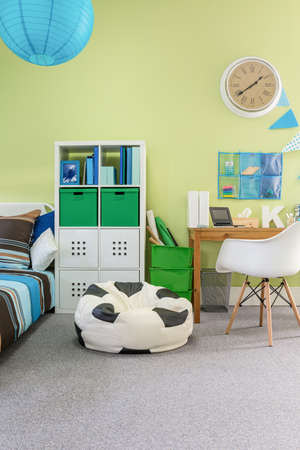 cosy: Image of functional cosy room interior for schoolchild