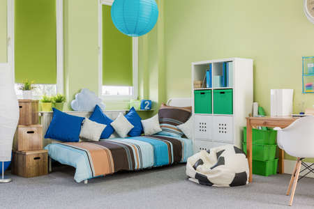 green room: Photo of relaxing and study space in spacious room
