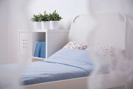 cosy: Photo of cosy light sleeping area for teenager