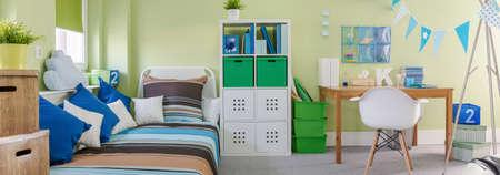 Decorative and pretty room for a child
