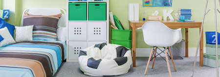 nook: Cozy and nice nook for a child in a house