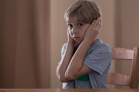 family fight: Young boy cannot hear any more his parents arguing