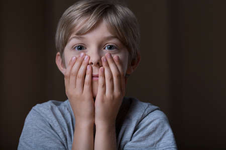 heartbreaking: Little boy is shocked because of something