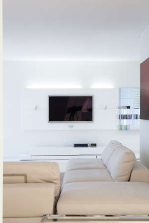 residence: Exclusive sitting room in luxury modern residence