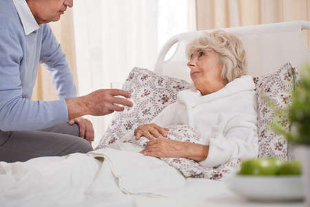 wife: Old man is trying to help his ill wife