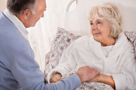 wife: Old man is nursing his very ill wife