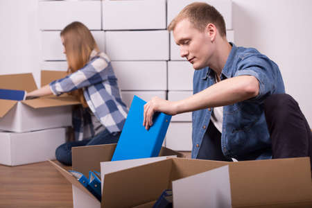 moving out: After break up young people have to move out