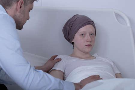 leucemia: Hija deprimido no cree que se recuperará