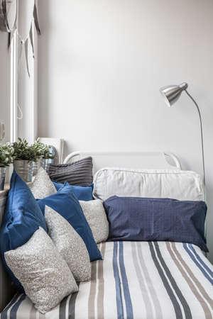 stylish boy: Cozy nook for sleeping in boys room