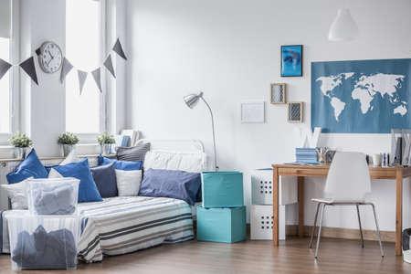 chambre � coucher: Espace confortable pour chaque gar�on dans le monde