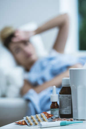 drug: Autumn - season for cold and high fever