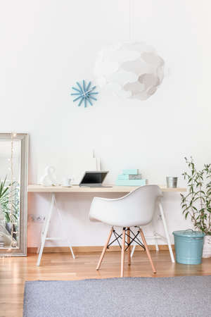 working place: Comfortable place to concentrate in small flat