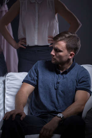 behave: Problems in marriage because of agressive wife