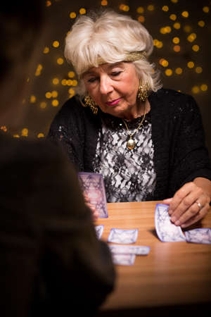 fortune telling: Picture presenting woman at fortune telling salon