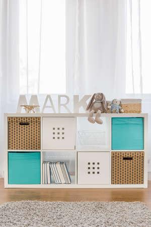 cubo: Foto del nuevo diseño de los niños funcionales de almacenamiento del cubo