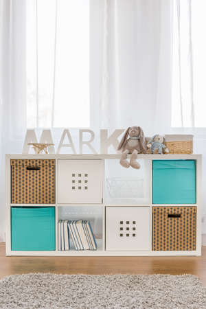 functional: Photo of new design functional kids cube storage