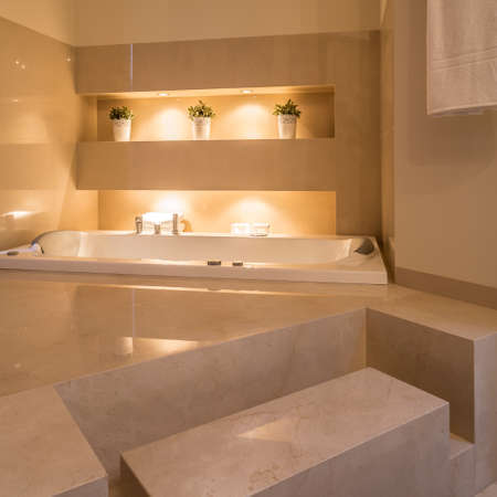 residence: Cozy and huge bathroom in residence