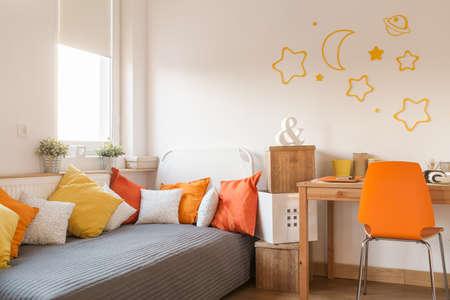 wall decor: Star wall decor in modern childish room