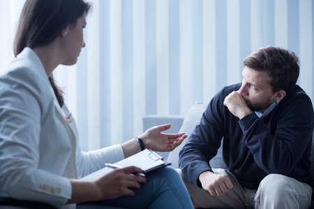depresión: Vista horizontal de la psicoterapia para el tratamiento de la depresión