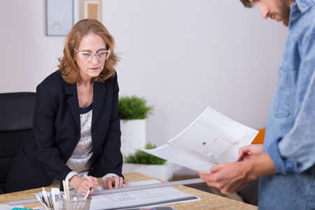 selfemployed: Picture of self-employed mature woman leading family business