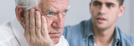 deference: Son worried about his old father health